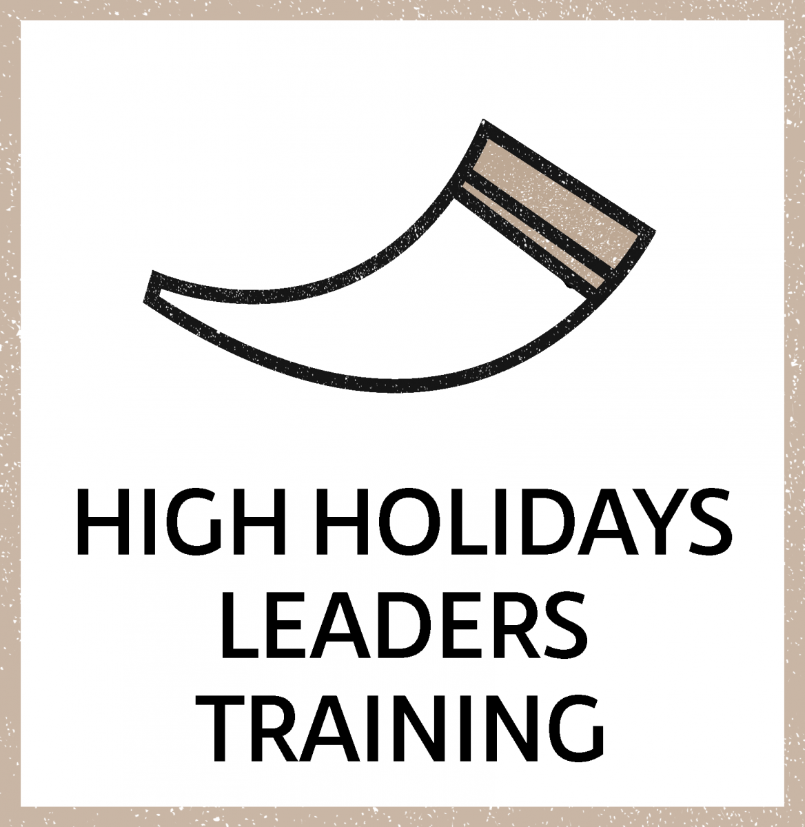 High Holiday Leader Training